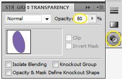 Выставляем прозрачность