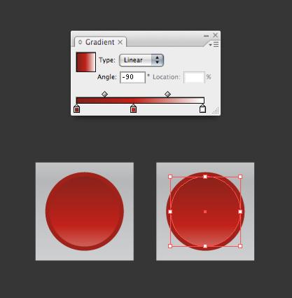 красные кнопки