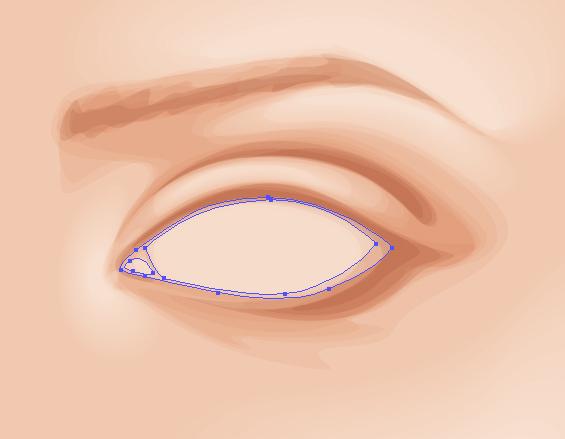 Рисуем фигуры для глазного яблока