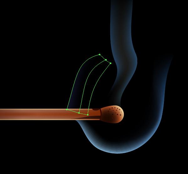 Создаем дым