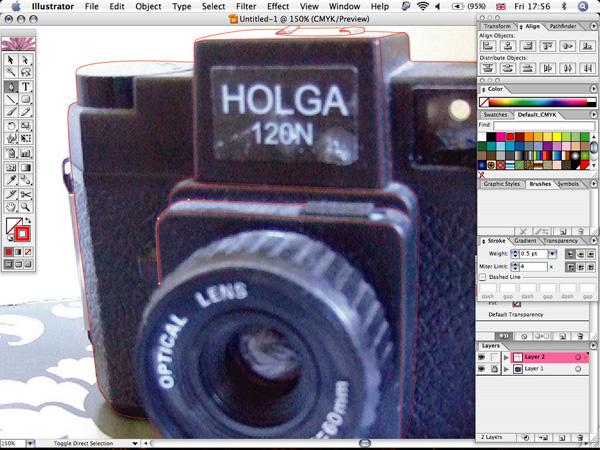 Отрисовываем фотоаппарат