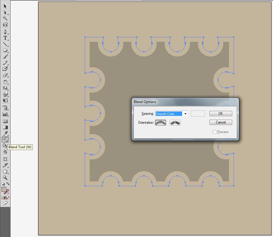 Как нарисовать тень в Adobe Illustrator для микростоков
