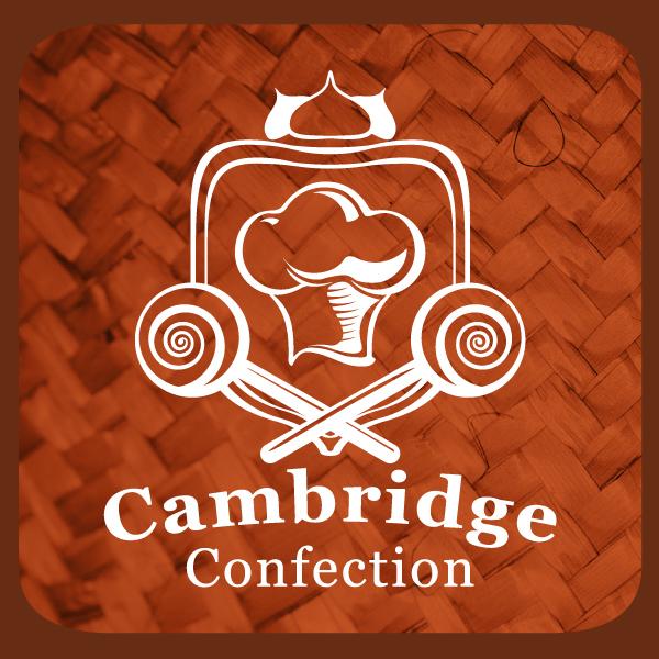 Логотип: герб кондитерской фабрики