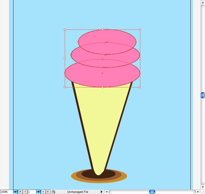 Шапка-мороженое