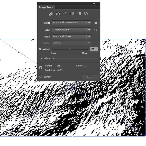 Трассировка в Adobe Illustrator CS6