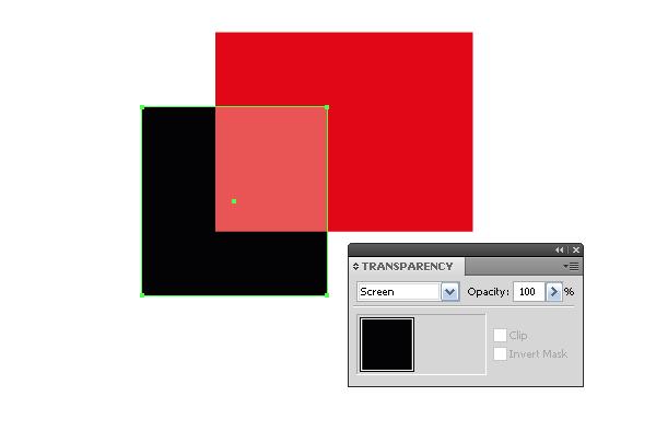 Те же объекты в цветовом режиме CMYK