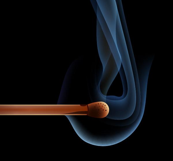 Все элементы дыма
